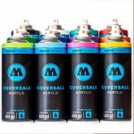 Аэрозольная краска Molotow COVERSALL Water-Based, 400 мл
