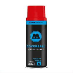 Аэрозольная краска Molotow COVERSALL Water-Based, Трафик красный, 400 мл