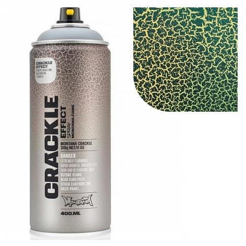 Аэрозольная краска Montana Кракелюр-эффект, зеленый 400 мл