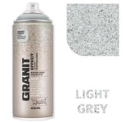 Аэрозольная краска Montana гранит-эффект, светло-серый 400 мл