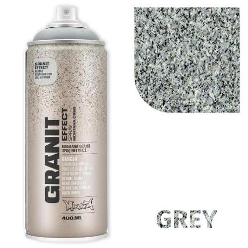Аэрозольная краска Montana гранит-эффект, серый 400 мл