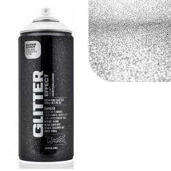 Аэрозольный лак Montana Блеск-эффект, серебро 400 мл