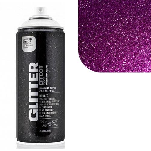 Аэрозольный лак Montana Блеск-эффект, фиолетовый 400 мл