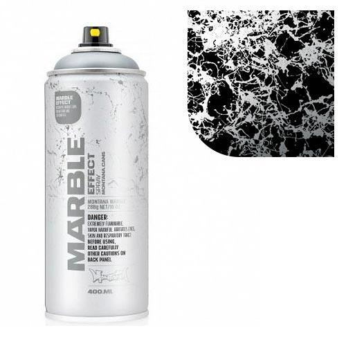 Аэрозольная краска Montana Мрамор-эффект, серебряный 400 мл