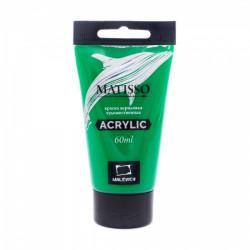 Акриловая краска Малевичъ Matisso, зеленый средний, 60 мл