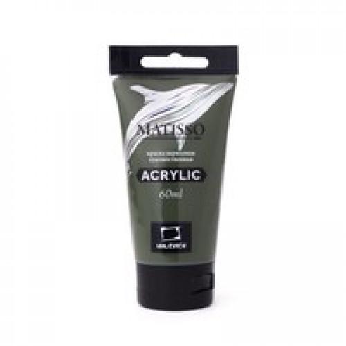 Акриловая краска Малевичъ Matisso, оливковый, 60 мл