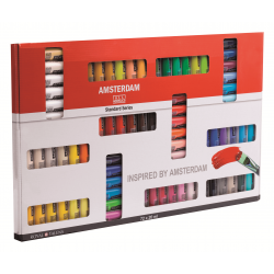 Набор акриловых красок Amsterdam Standart 72 цвета * 20 мл