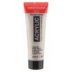 Акриловая краска Amsterdam №817 Белый перламутровый, туба 20 мл