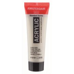 Акриловая краска Amsterdam №818 Желтый перламутровый, туба 20 мл