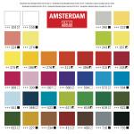 Набор акриловых красок Amsterdam Standart 36цв*20мл new