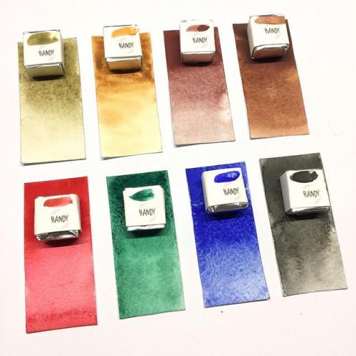 Акварельные краски ручной работы «Handy WaterColor»