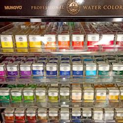 Акварельные краски Mungyo Gallery, полу кювет