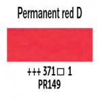 Краска акварельная Van Gogh туба 10мл №371 Красный насыщенный устойчивый