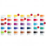 Набор акварели «Белые ночи» из 35 цветов в металлическом пенале