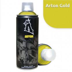 """Аэрозоль """"ARTON""""  A923 - Gold , 400 мл"""