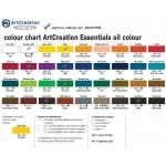 Набор масляных красок Art Creation 8 туб по 12мл в картонной упаковке