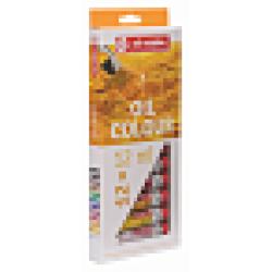 Набор масляных красок Art Creation 12 туб по 12мл в картонной упаковке