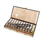 Набор с масляной краской в деревянной упаковке, 10 цв. по 40 мл
