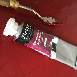 "Фиолетово-розовая, масло ""Tician"", туба 46 мл."