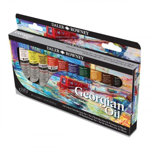 Набор масляных красок Daler Rowney Introduction Set 10 цв* 22 мл