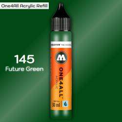Заправка Molotow ONE4ALL акриловая 145 темно-зеленый, (Future Green), 30мл