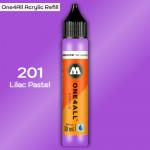 Заправка Molotow ONE4ALL акриловая 201 сиреневый, (Lilac Pastel), 30мл
