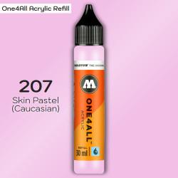Заправка Molotow ONE4ALL акриловая 207 пастельно-розовый, (Skin Pastel (Caucasian)), 30мл