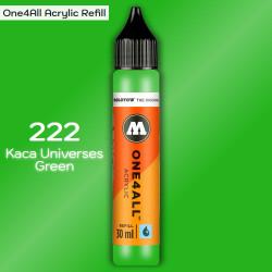 Заправка Molotow ONE4ALL акриловая 222 салатовый, (Kaca Universes Green), 30мл