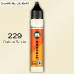 Заправка Molotow ONE4ALL акриловая 229 натуральный белый, (Nature White), 30мл