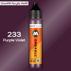 Заправка Molotow ONE4ALL акриловая 233 пурпурный, (Purple Violet), 30мл