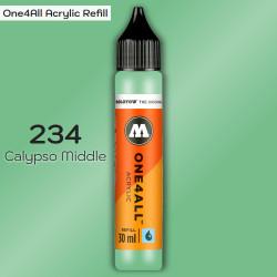 Заправка Molotow ONE4ALL акриловая 234 калипсо, (Calypso Middle), 30мл