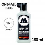 Заправка Molotow ALL4ONE акриловая (160) белая, 180мл