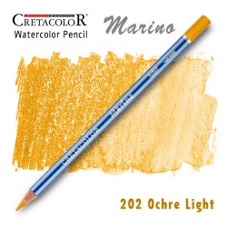Акварельный карандаш Marino 202 Охра светая (Ochre Light)