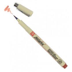 Ручка-кисточка PIGMA BRUSH, коричневая