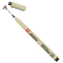 Ручка-кисточка PIGMA BRUSH, сепия тёмный