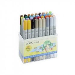 Набор маркеров  COPIC CIAO MANGA 36цвета в пластик. контейнере