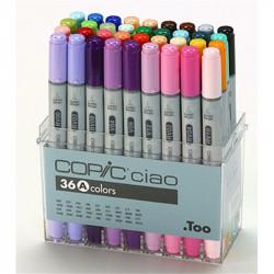 Набор маркеров  COPIC CIAO 36цвета Set  A