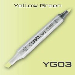 Маркер Copic CIAO YG03 Yellow Green (Желто-Зеленый)