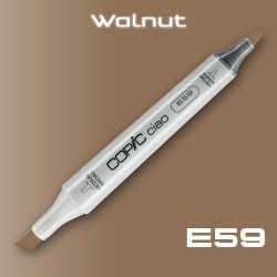Маркер Copic CIAO E59 Walnut (Грецкий Орех)