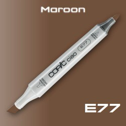 Маркер Copic CIAO E77 Maroon (Каштановый)