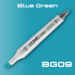 Маркер Copic CIAO BG09 Blue Green (Сине-Зеленый)