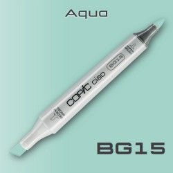 Маркер Copic CIAO BG15 Aqua (Голубая Вода)