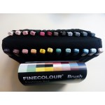 Набор Finecolour Brush 24 цвета в пенале Мода