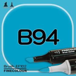 Маркер FINECOLOR Brush B94 Таитянский синий