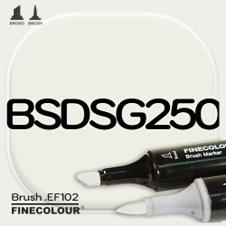 Маркер FINECOLOR Brush BSDSG250 BCDS серый №2