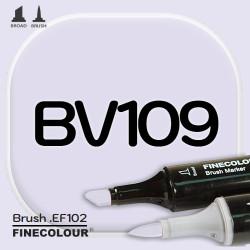 Маркер FINECOLOR Brush BV109 Пурпурный двухсторонний