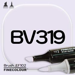 Маркер FINECOLOR Brush BV319 Пыльца лаванды