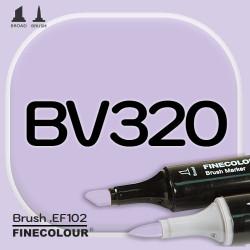Маркер FINECOLOR Brush BV320 Мягкий фиолетовый