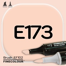 Маркер FINECOLOR Brush E173 Легкий загар
