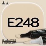Маркер FINECOLOR Brush E248 Золото льва двухсторонний